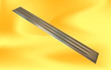 Vodící pásek AL-10 s drážkami