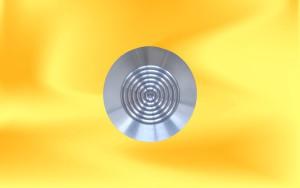 Knoflíky AL-21 kružnice horní pohled
