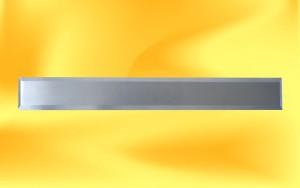 nerezový vodící pásek s broušeným povrchem