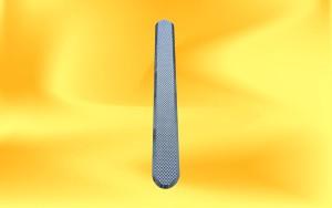 nerezový vodící pásek s diamantovým vzorem