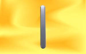 nerezový podlahový vodící pásek s drážkami