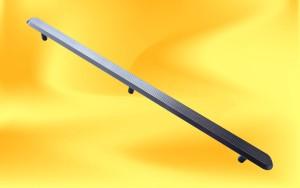 nerezový podlahový vodící pásek s drážkami s kolíky